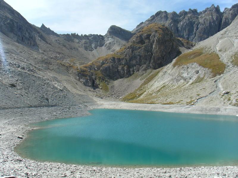 Lac et col des Béraudes. ©