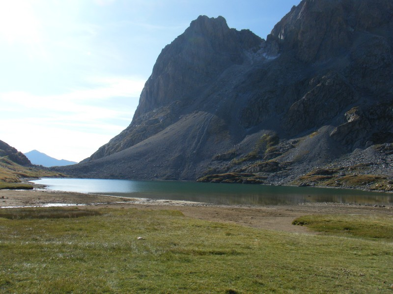 Lac Rond des Rochilles. ©