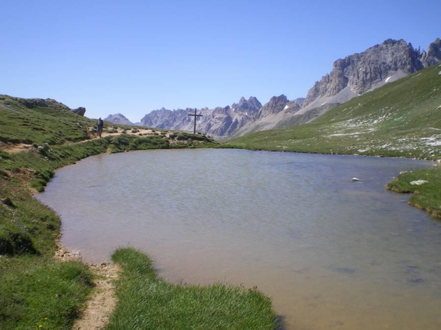 Le lac du col de Vallée Etroite ©